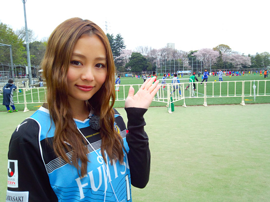 みなさんこんにちは!阿井莉沙です! 今回のスキフロは先日、川崎フロンターレU-12が出場した「ダ