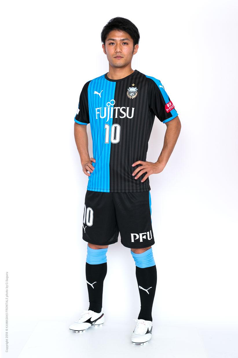 MF10/大島 僚太選手 | 選手・ス...